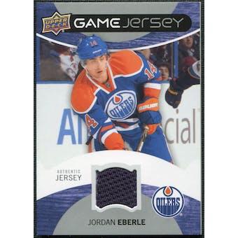 2012/13 Upper Deck Game Jerseys #GJEB Jordan Eberle C