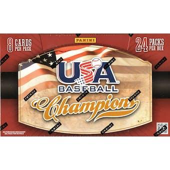 2013 Panini USA Champions Baseball Hobby Box