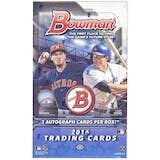 2016 Bowman Baseball Jumbo Box
