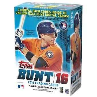 2016 Topps BUNT Baseball 11-Pack Blaster Box