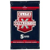 2016 Panini Elite Extra Edition Longevity Baseball Pack