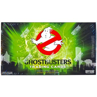 Ghostbusters Trading Cards Box (Cryptozoic 2016)