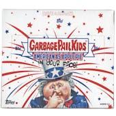 Garbage Pail Kids American As Apple Pie Hobby Box (Topps 2016)