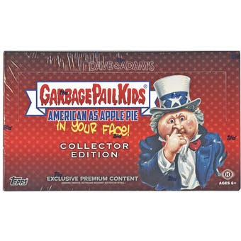 Garbage Pail Kids American As Apple Pie Collector's Edition Box (Topps 2016)