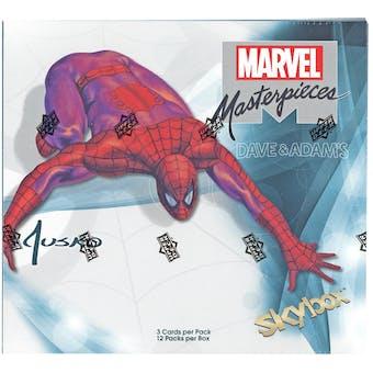 Marvel Masterpieces (featuring Joe Jusko) Hobby Box (Upper Deck 2016)