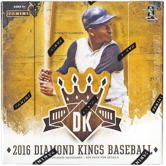 2016 Panini Diamond Kings Baseball Hobby Box