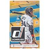 2016 Panini Donruss Baseball Hobby Box