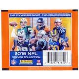 2016 Panini NFL Football Sticker Pack