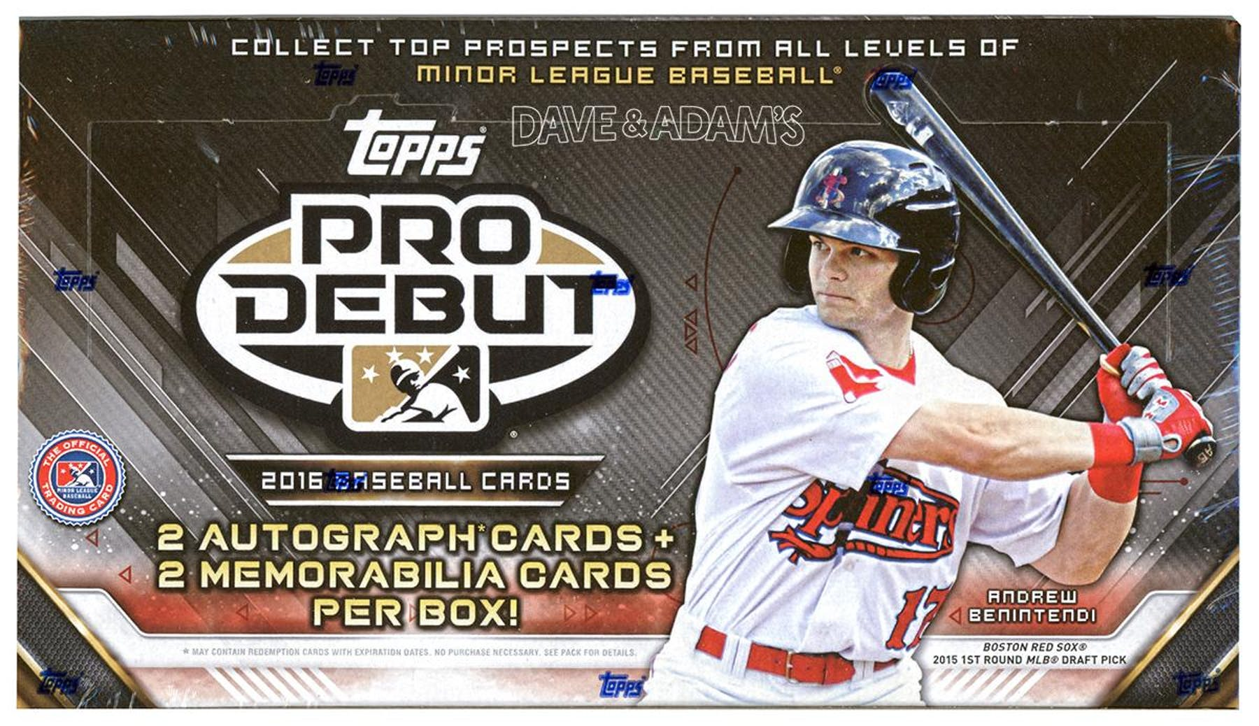 2016 Topps Pro Debut Baseball Hobby Box Da Card World