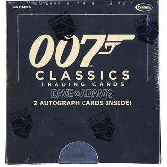 James Bond 007 Classics Trading Cards Box (Rittenhouse 2016)