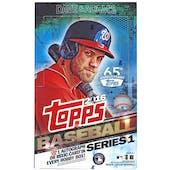 2016 Topps Series 1 Baseball Hobby Box