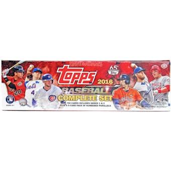 2016 Topps Factory Set Baseball Hobby (Box)
