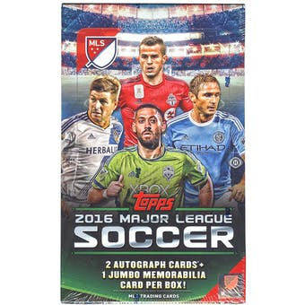 2016 Topps Major League Soccer Hobby Box