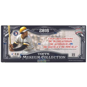 2016 Topps Museum Collection Baseball Hobby Box