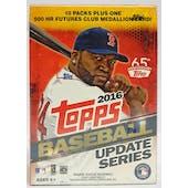 2016 Topps Update Baseball 10-Pack Blaster Box