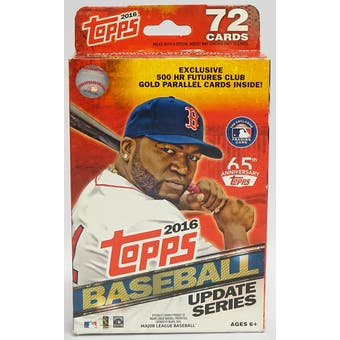 2016 Topps Update Baseball Hanger Box