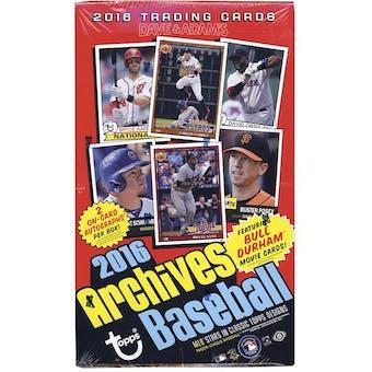 2016 Topps Archives Baseball Hobby Box