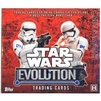 Star Wars Evolution Hobby Box (Topps 2016)