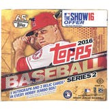 2016 Topps Series 2 Baseball Hobby Jumbo Box
