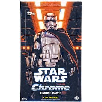 Star Wars: The Force Awakens Chrome Hobby Box (Topps 2016)