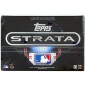 2016 Topps Strata Baseball Hobby Box