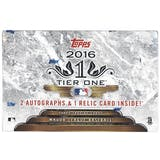 2016 Topps Tier One Baseball Hobby Box