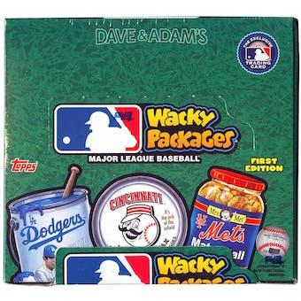 2016 Topps Wacky Packages Baseball Hobby Box