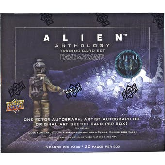 Alien Anthology Trading Cards Box (Upper Deck 2016)