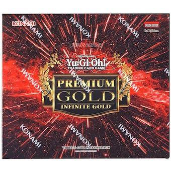 Yu-Gi-Oh Premium Gold: Infinite Gold Booster Box