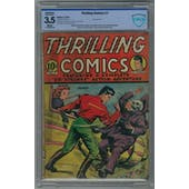 Thrilling Comics #7 CBCS 3.5 (W) *17-03FB095-009*