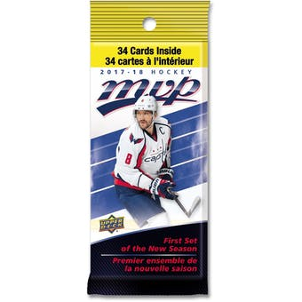2017/18 Upper Deck MVP Hockey Fat Pack Box