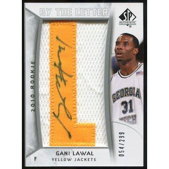 2010/11 Upper Deck SP Authentic #217 Gani Lawal AU/Serial 299, Print Run 1495 Autograph /1495