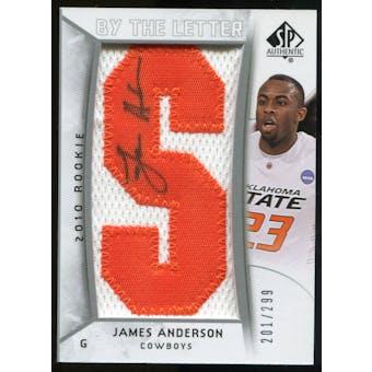 2010/11 Upper Deck SP Authentic #225 James Anderson AU/Serial 299, Print Run 2392 Autograph /2392