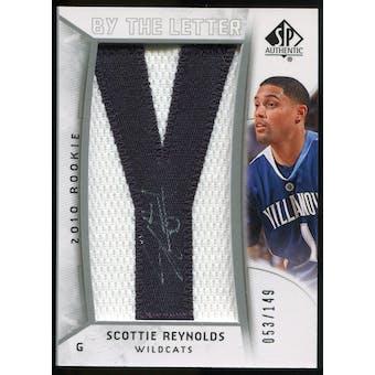 2010/11 Upper Deck SP Authentic #233 Scottie Reynolds AU/Serial 149, Print Run 1192 Autograph /1192