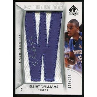 2010/11 Upper Deck SP Authentic #241 Elliot Williams AU/Serial 299, Print Run 2392 Autograph /2392