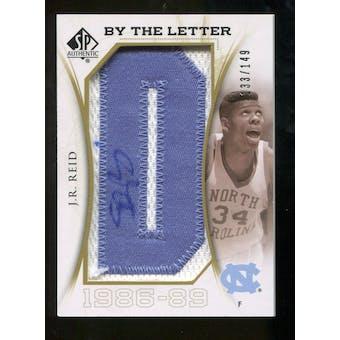 2010/11 Upper Deck SP Authentic By The Letter Legend Last Name #LJR J.R. Reid Autograph /149