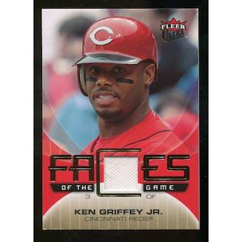 2007 Fleer Ultra Faces of the Game Materials #KG Ken Griffey Jr.