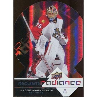 2012/13 Upper Deck Requisite Radiance #RR21 Jacob Markstrom