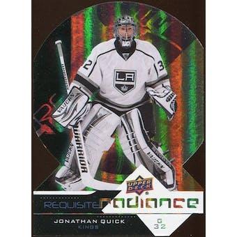 2012/13 Upper Deck Requisite Radiance #RR23 Jonathan Quick