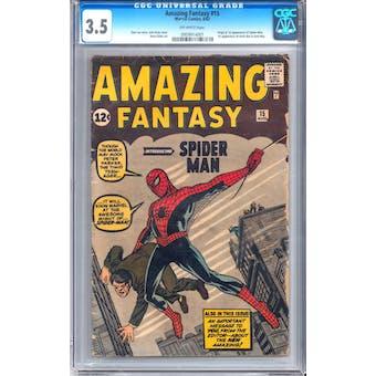 Amazing Fantasy #15 CGC 3.5 (OW) *0959914001*