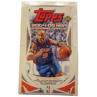 2004/05 Topps Basketball Jumbo Box