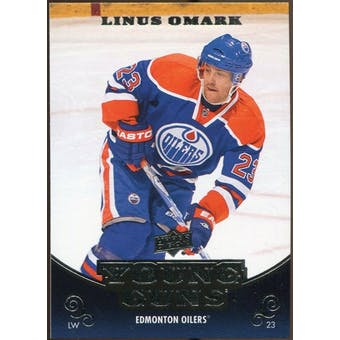 2010/11 Upper Deck #467 Linus Omark YG RC Young Guns Rookie Card