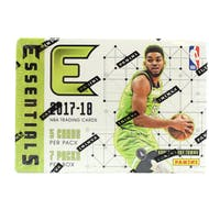 2017/18 Panini Essentials Basketball 7-Pack Blaster Box