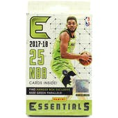 2017/18 Panini Essentials Basketball Hanger Box (Lot of 10)
