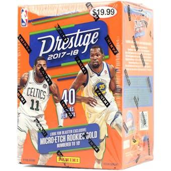 2017/18 Panini Prestige Basketball Blaster Box