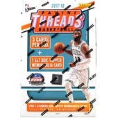 2017/18 Panini Threads Basketball 5x7 Jumbo Jersey Box (Lot of 3)
