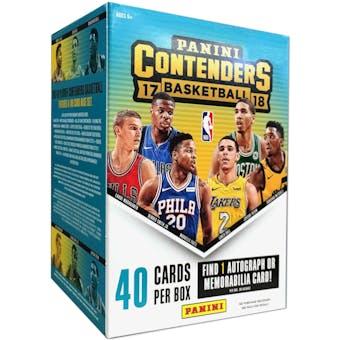 2017/18 Panini Contenders Basketball 5-Pack Box