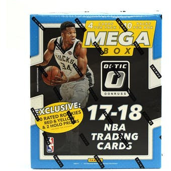 2017/18 Panini Donruss Optic Basketball Mega Box