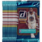 2017/18 Panini Donruss Basketball Blaster Pack (Lot of 11) = 1 Blaster Box