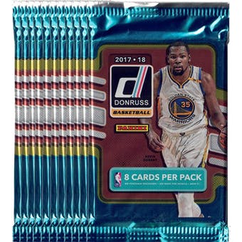 2017/18 Panini Donruss Basketball Blaster Pack (Lot of 11) = 1 Blaster Box